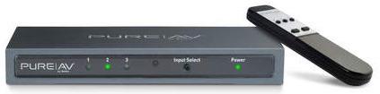 Belkin PureAV 3-1 HDMI Switch with remote control