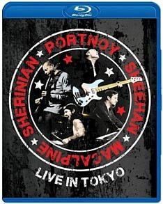 Portnoy, Sheehan, MacAlpine, Sherinian - Live In Tokyo on Blu-ray