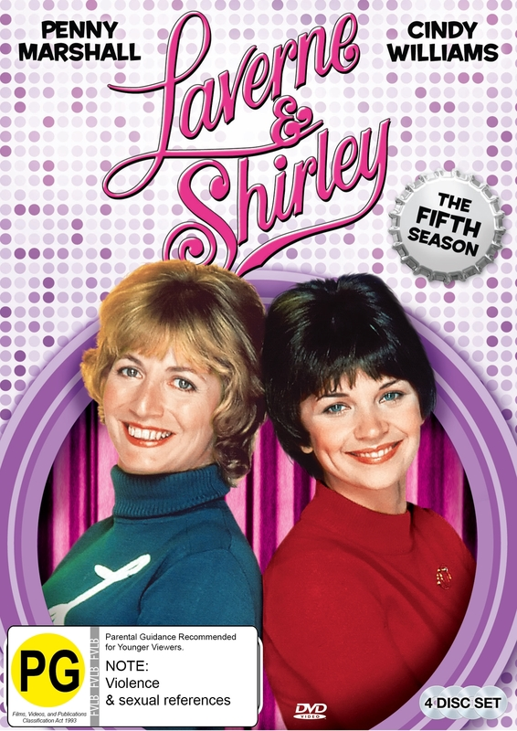 Laverne & Shirley Season 5 on DVD