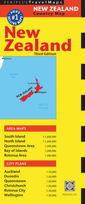 New Zealand Travel Map (Third Edition)