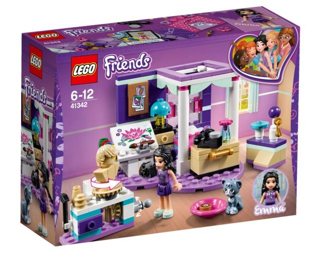 LEGO Friends - Emma's Deluxe Bedroom (41342)