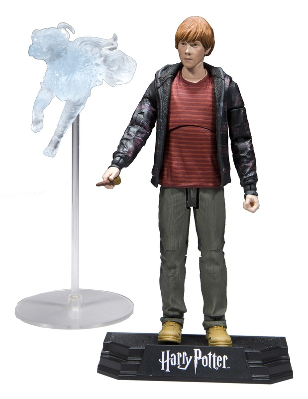 "Harry Potter: Ron Weasley (Deathly Hallows) - 7"" Action Figure"