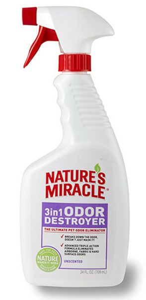 Nature's Miracle: 3IN1 Odor Destroyer (Unscented)