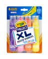 Crayola: Project - XL Poster Markers (Bright Colours/4-Pack)