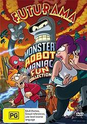 Futurama: Monster Robot Maniac Fun Collection on DVD