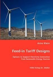 Feed-In Tariff Designs by Arne Klein image