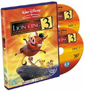 The Lion King 3 - Hakuna Matata (2 DVDs) on DVD
