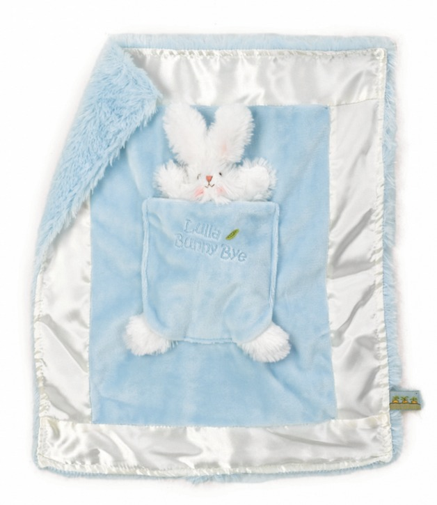 Bunnies By The Bay: Bud Lulla Bunny Bye Blanket