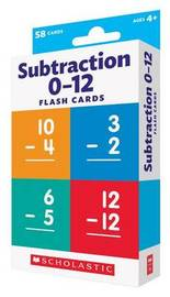 Flash Cards: Subtraction by Scholastic Teaching Resources