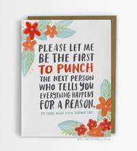 Emily McDowell - Happens for a Reason Empathy Card