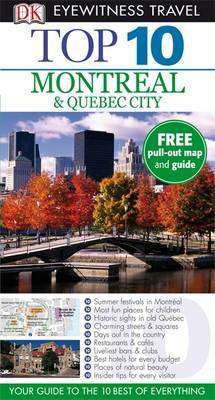DK Eyewitness Top 10 Travel Guide: Montreal & Quebec City by Gregory Gallagher image