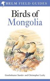Birds of Mongolia by Sundev Gombobaatar