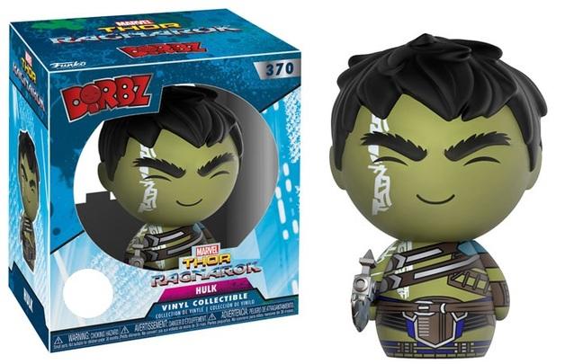Thor: Ragnarok - Hulk (Unhelmeted Ver.) Dorbz Vinyl Figure