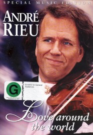 Andre Rieu - Love Around The World on DVD image