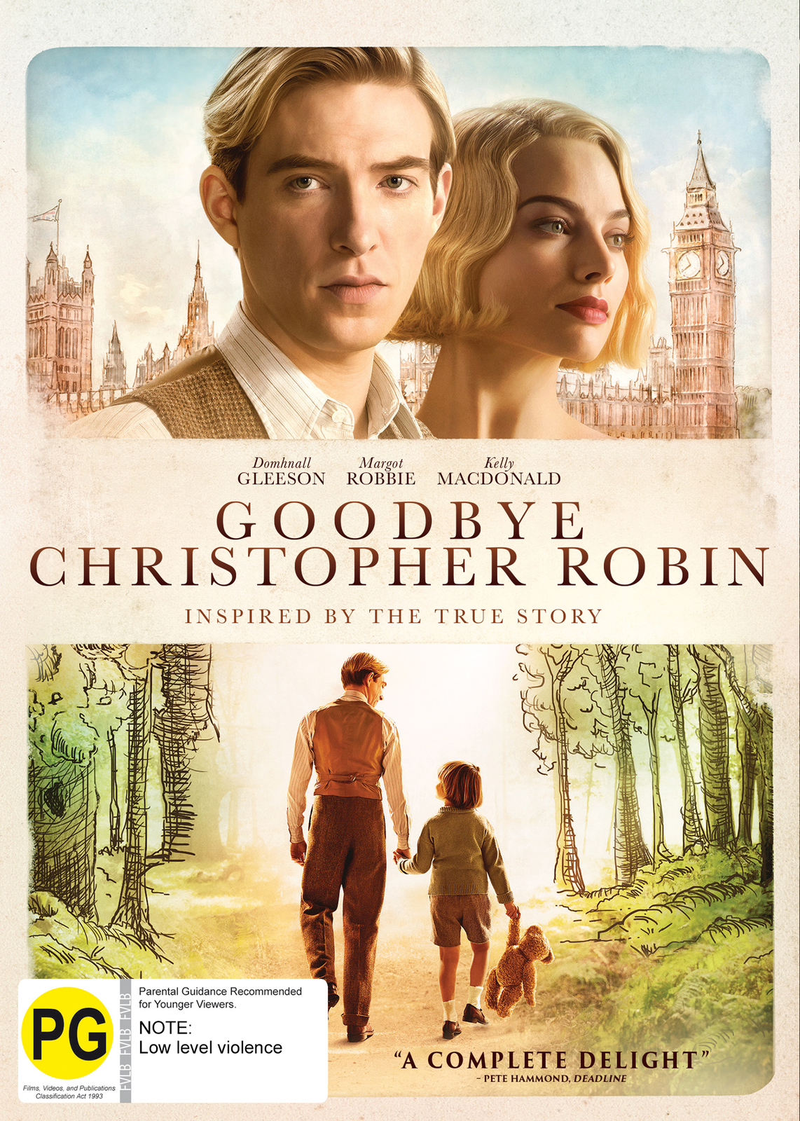 Goodbye Christopher Robin on DVD image