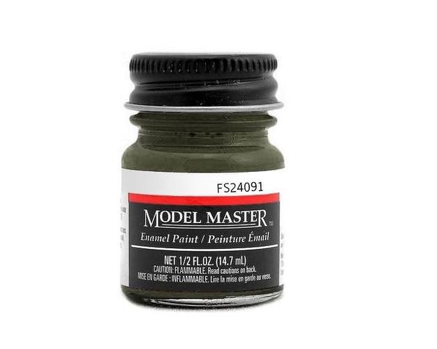 Testors: Enamel Paint - Dark Drab B52 (Semi-Gloss)