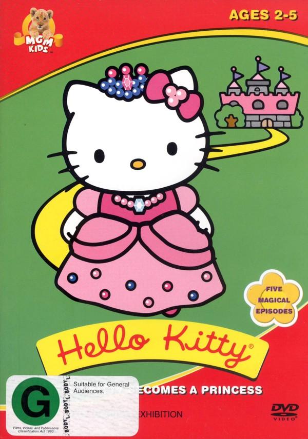 Hello Kitty - Becomes A Princess on DVD image