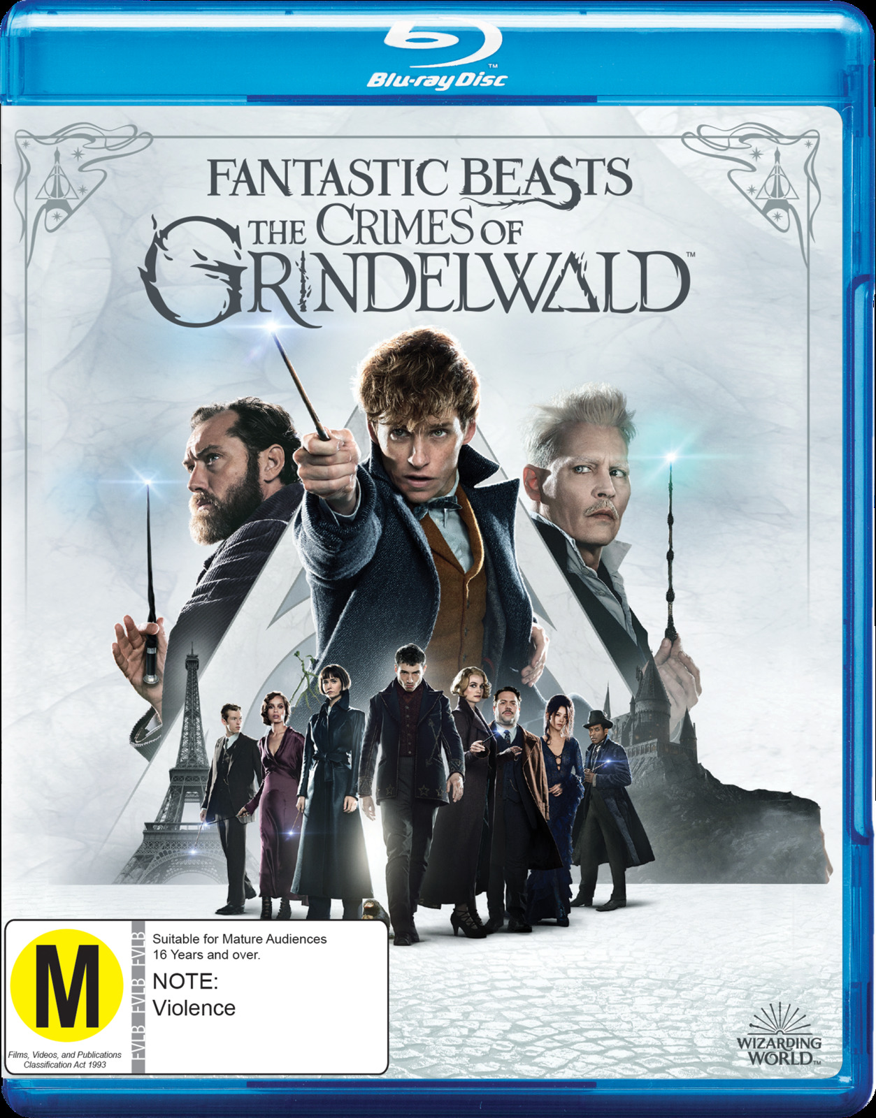 Fantastic Beasts: The Crimes Of Grindelwald on Blu-ray image