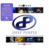 Deep Purple Live At The 2006 Montreux Festival (CD+DVD) by Deep Purple