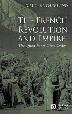 The French Revolution and Empire by Donald M. G. Sutherland image