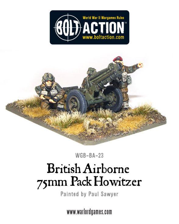 British Airborne - 75mm Pack Howitzer & Crew image