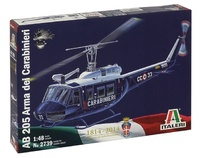 Italeri: 1:48 AB 205 Arma Dei Carabinieri - Model Kit