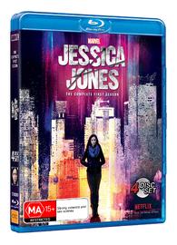 Jessica Jones - The Complete First Season on Blu-ray