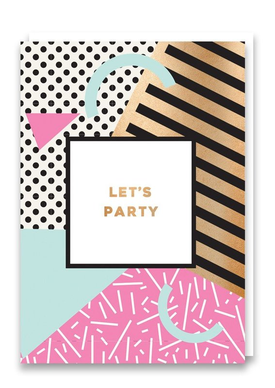 Nineteen Seventy Three: Let's Party - Greeting Card