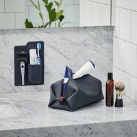 Koby Waterproof Toiletry Bag | Charcoal