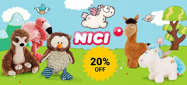 20% off Nici!