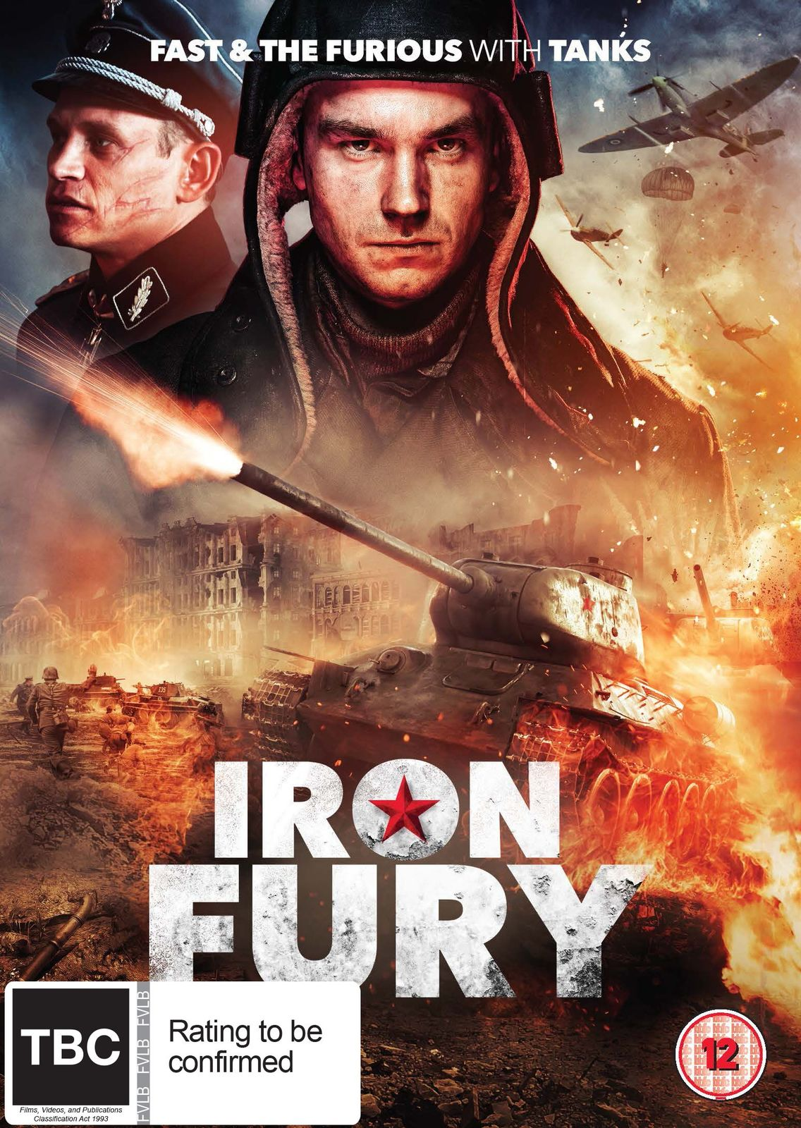Iron Fury on DVD image