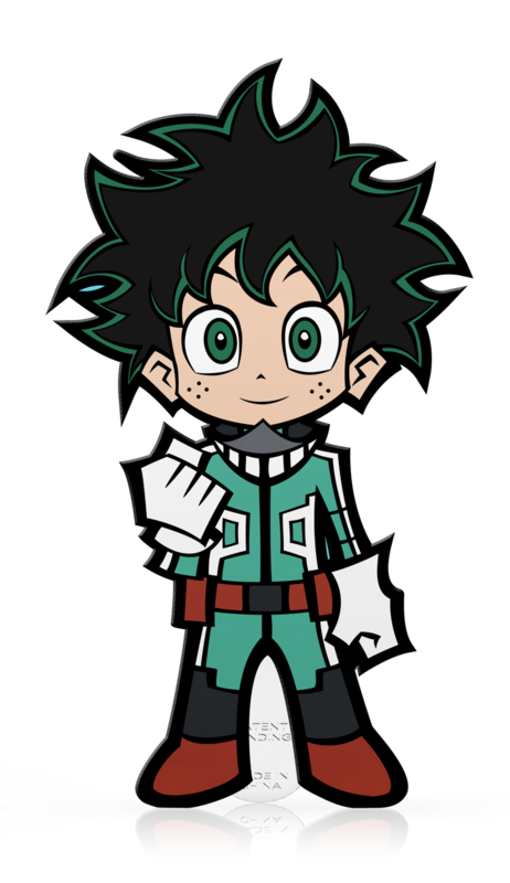 My Hero Academia: SD Deku (#M47) - Mini FiGPiN