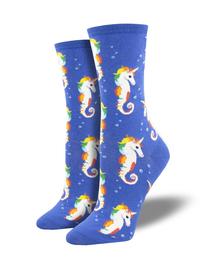 Socksmith: Sea Unicorn - Blue image