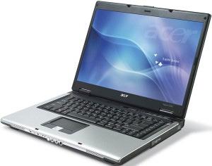 Acer Aspire 5102AWLMI Turion X2 1GB 80GB DVDRW 15.4INCH X1300 Vista Home Premium