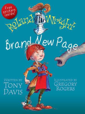 Roland Wright, Brand New Page by Tony Davis
