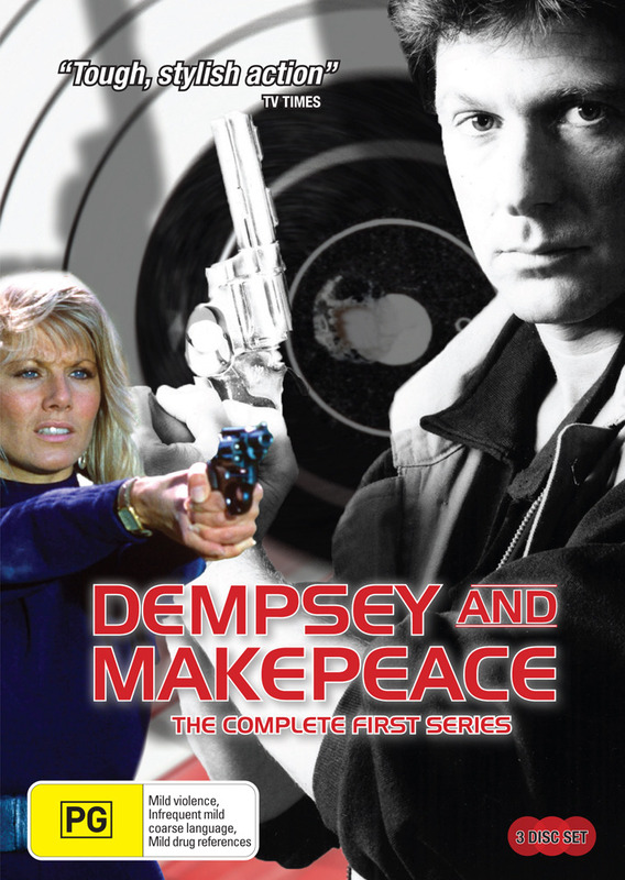 Dempsey And Makepeace - The Complete Series 1 (3 Disc Set) on DVD