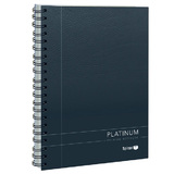 Spirax 401 Platinum Notebook A5 - Black