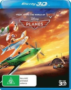 Planes 3D on Blu-ray, 3D Blu-ray