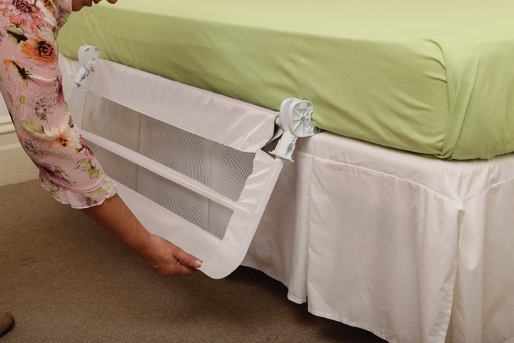 Dreambaby Harrogate Bed Rail - White image