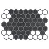 Geometric Felt Placemat - Grey