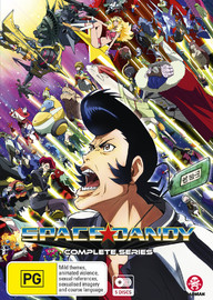 Space Dandy - Complete Series on DVD