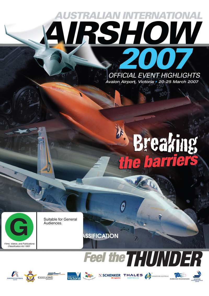 Australian International Airshow 2007 on DVD image