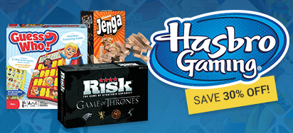 30% off Hasbro Games