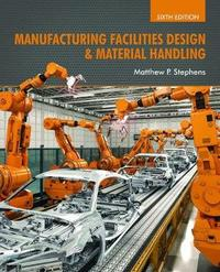 Manufacturing Facilities Design & Material Handling by Matthew P Stephens