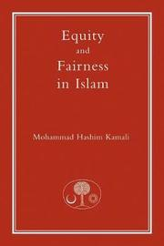 Equity and Fairness in Islam by Mohammad Hashim Kamali
