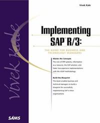 Implementing SAP R/3 by Vivek Kale