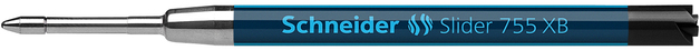 Schneider: Slider 755 Ballpoint Refill - Black (XB)