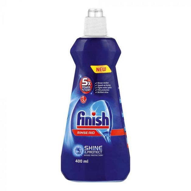 Finish: Dishwasher Rinse Aid Regular 500ml