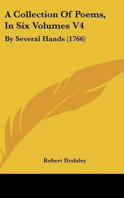 A Collection of Poems, in Six Volumes V4: By Several Hands (1766) image