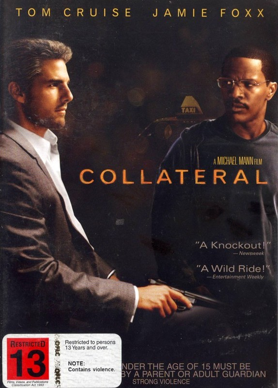 Collateral (Single Disc) on DVD